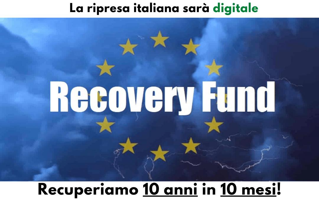 La ripresa italiana sarà digitale